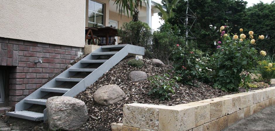Montage von Treppen